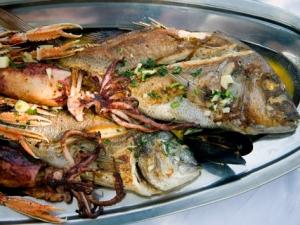 NIN pecena riba i lignje